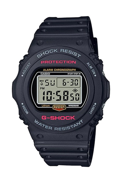 G-Shock DW-5750E-1BDR Black/Red