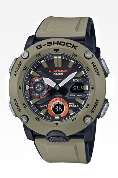 G Shock GA2000 Carbon Core Series Stone