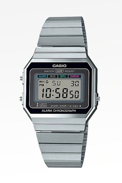 Casio Super Slim A700 A700W-1A Silver
