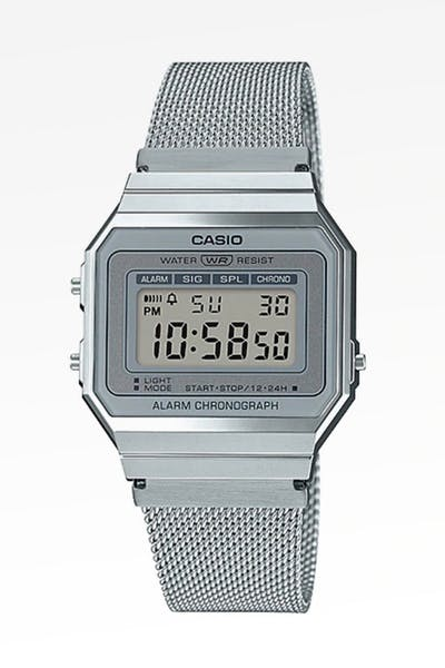 Casio Super Slim A700 A700WM-7A Silver