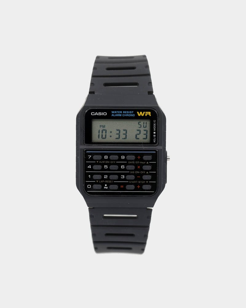 Casio Men's Calculator Watch Black