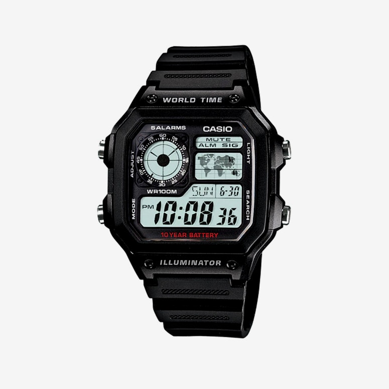 G Shock AE1200WH Series Black