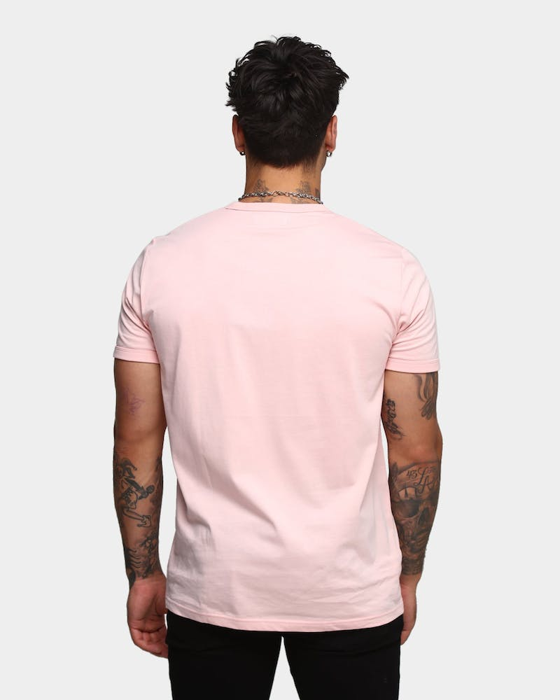 Fred Perry Men's Ringer Short Sleeve T-Shirt Parfait