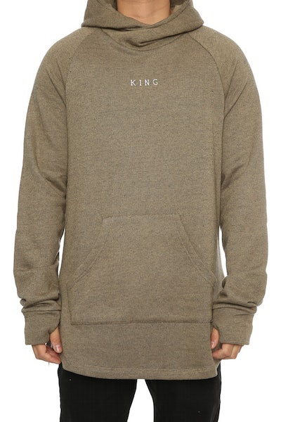 King Apparel Stamp Wrap Hoodie Camel