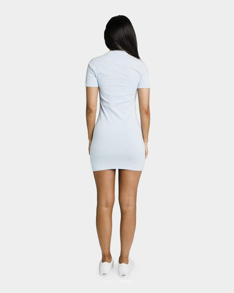 Sik Silk Women's Skytape Bodycon Dress Light Blue