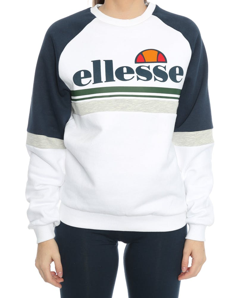 Ellesse Sesamo Crew Sweat White