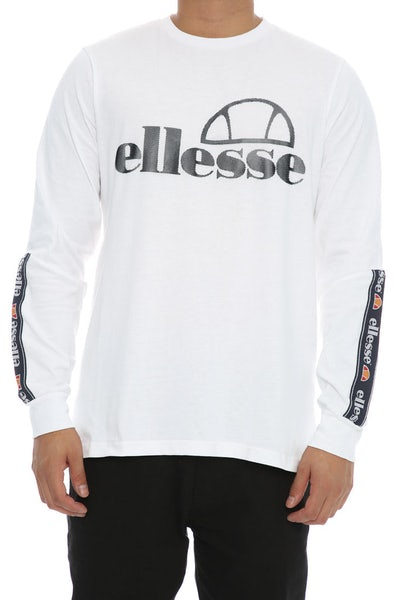 Ellesse Murgia  Long Sleeve Tee White