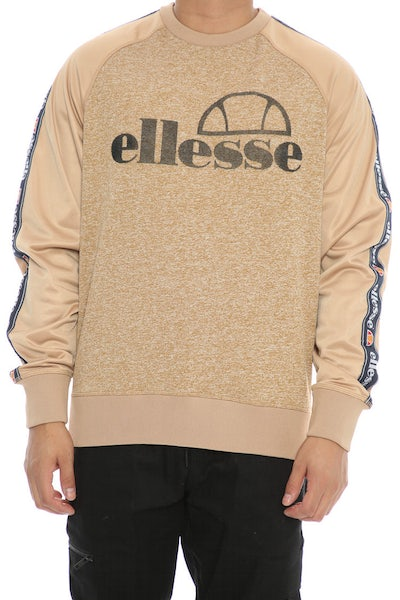 Ellesse Corps Crew Sweat Tan