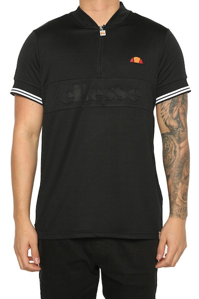 Ellesse Fillippo Zip Tee Anthracite