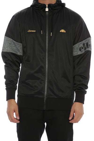 Ellesse Oro Hooded Track Sweat Anthracite