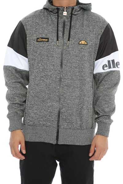 Ellesse Oro Hooded Track Sweat Charcoal