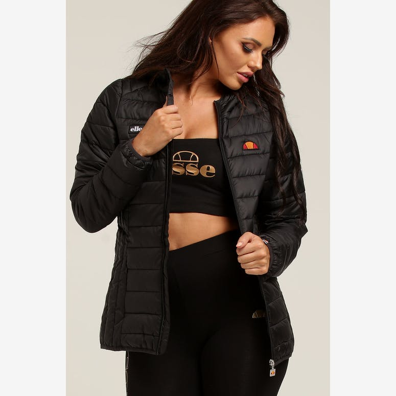 Ellesse Women s Lombard Padded Jacket Anthracite – Culture Kings d0d0ac039d