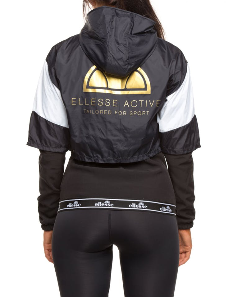 e4a2525d4 Ellesse Women's Gianduiotto Overlayed Jacket Anthracite