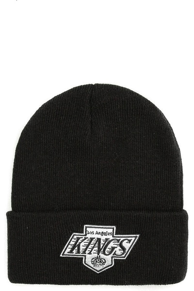 Mitchell & Ness Los Angeles Kings Logo Cuff Beanie Black