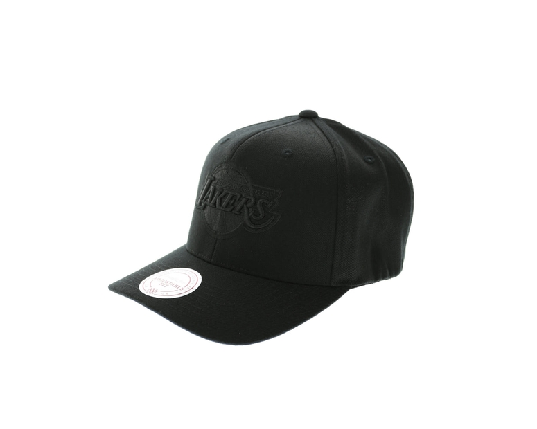 Mitchell & Ness Lakers All Black 110 Snapback - Black