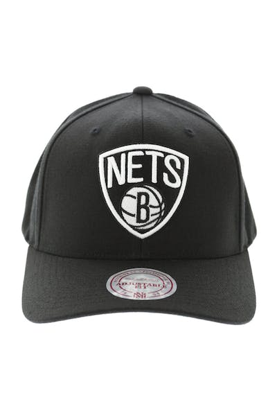 Mitchell & Ness Nets Flex 110 Snapback Black