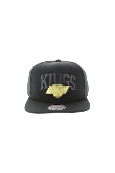 Mitchell & Ness Sacramento Kings Lux Arch Snapback Black/Gold