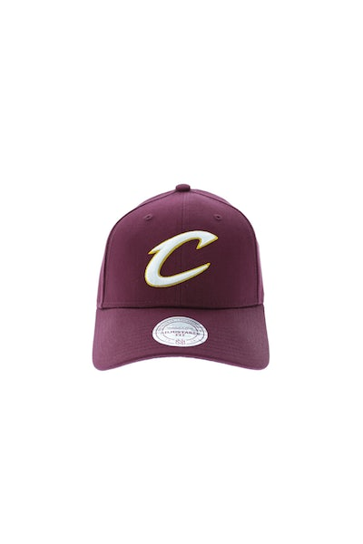 Mitchell & Ness Cleveland Cavaliers Low Pro Strapback Maroon