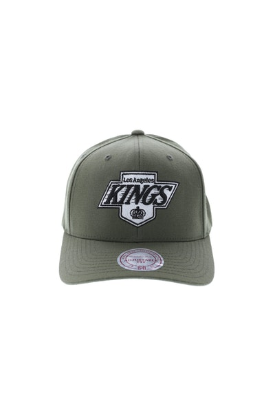 Mitchell & Ness LA Kings Flex 110 Snapback Olive