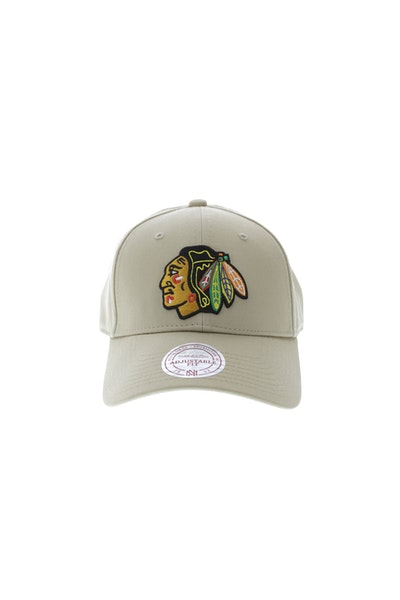 Mitchell & Ness Chicago Blackhawks Core Low Pro Snapback Khaki