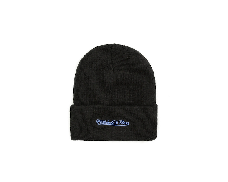 Mitchell & Ness New York Knicks Logo Beanie Black