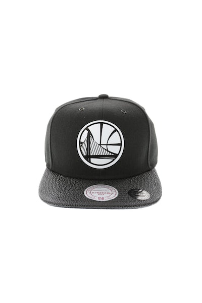 Mitchell & Ness Warriors Ultimate Snapback Black