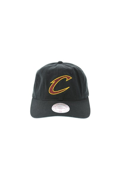 Mitchell & Ness Cavaliers Current Cotton Strapback Black