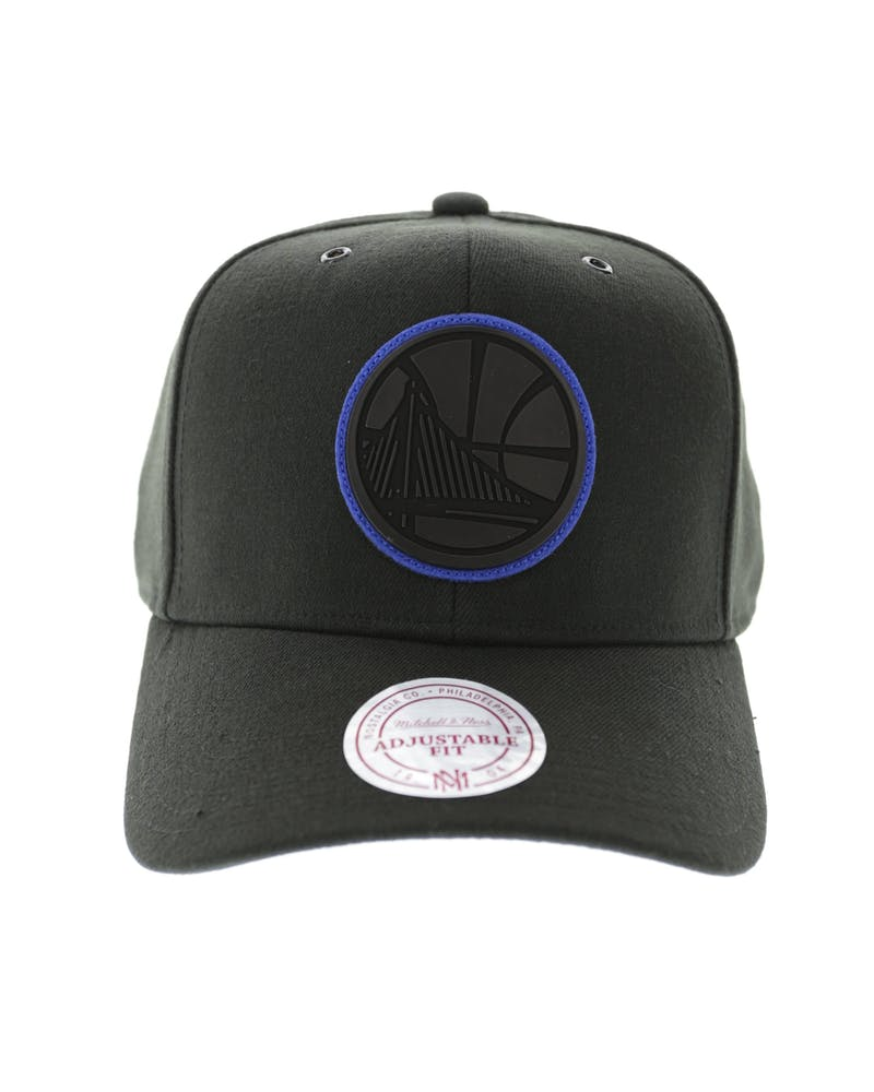 Mitchell & Ness Warriors Sonic Felt Snapback Black