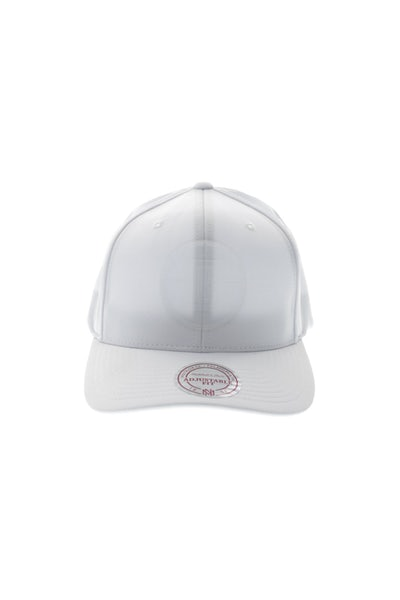 Mitchell & Ness Clippers Rubber 110 Snapback White