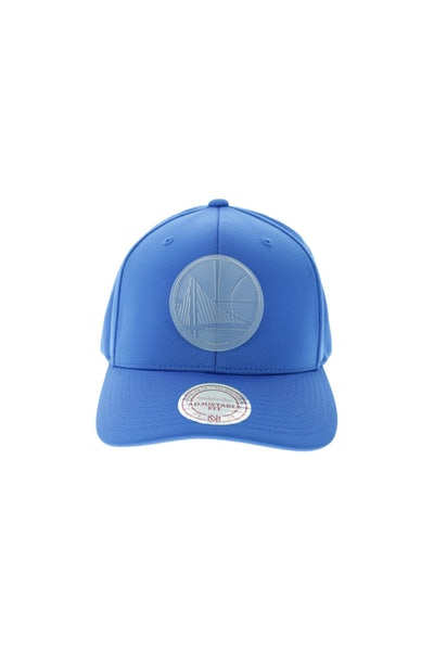 Mitchell & Ness Warriors Rubber 110 Snapback Blue