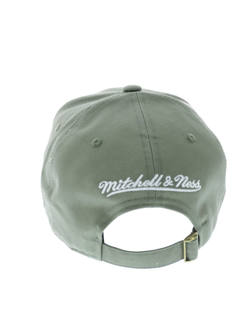 Mitchell & Ness Blackhawks Low Pro Strapback Green