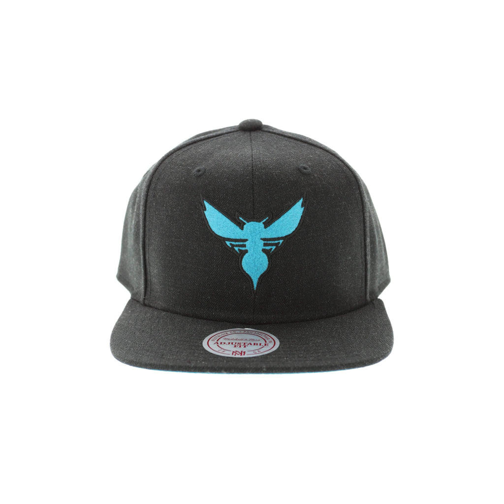cb0dcac389c6b ... norway mitchell ness charlotte hornets heather snapback charcoal  culture kings 26bd7 1cccb