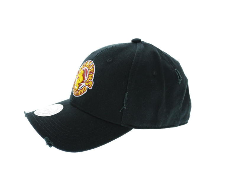 Mitchell & Ness Cleveland Cavaliers Distressed Low Pro Strapback Black