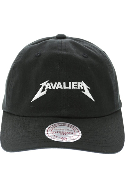 Mitchell & Ness Cavaliers Rock Font Dad Hat Black
