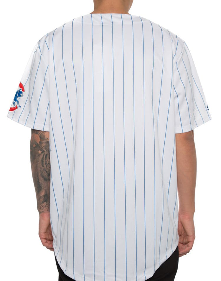 newest 0e7f4 331d9 Majestic Athletic Chicago Cubs Replica Jersey White