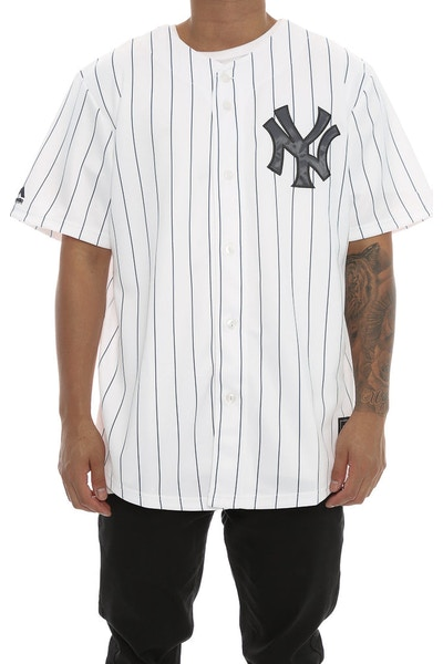 Majestic Athletic Yankees Replica Home Jersey White