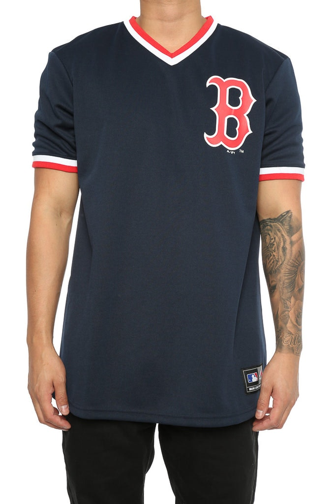 Majestic Athletic Red Sox Kabor V Neck Jersey Navy – Culture Kings