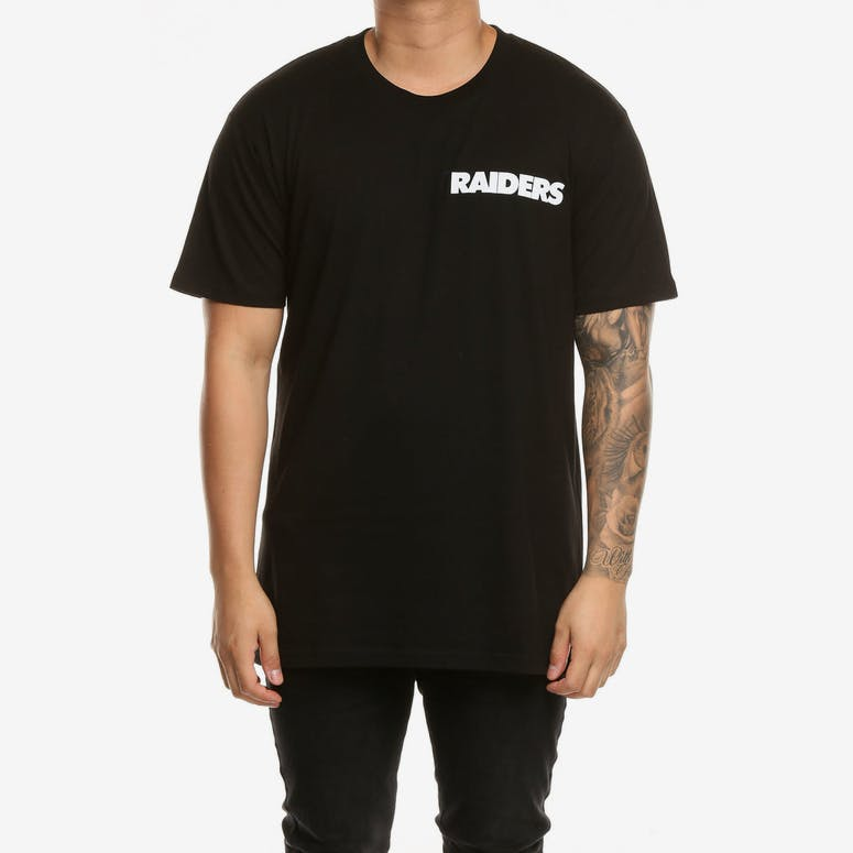 Majestic Athletic Raiders Jeaner Tee Black White – Culture Kings a4f9bb36f