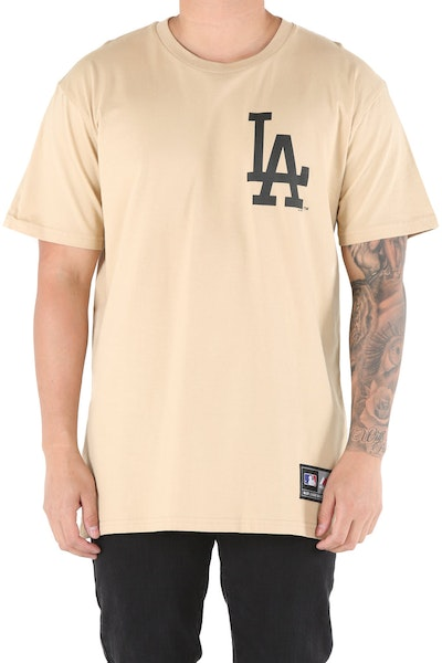 Majestic Athletic Dodgers Jeaner Tee Khaki/Black