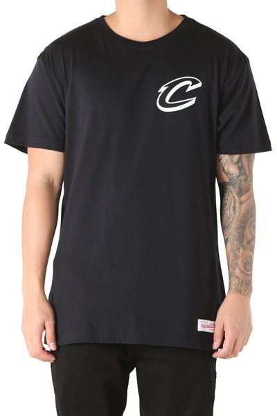 Mitchell & Ness Cleveland Cavaliers Mono Logo Tee Black