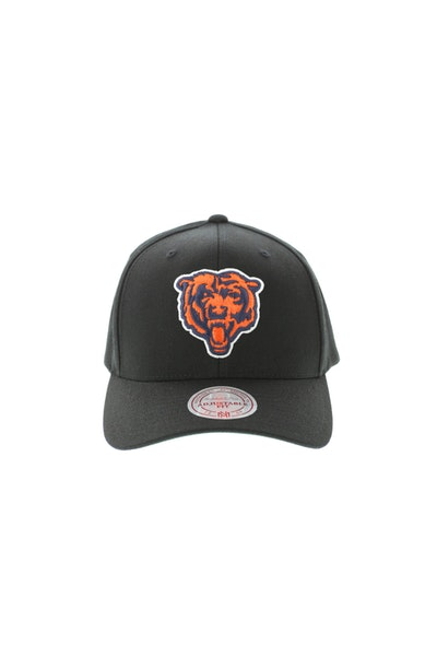 Mitchell & Ness Chicago Bears Flex 110 Embroidered Logo Snapback Black/Orange/Green