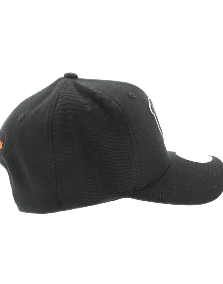 watch 29516 0a14a Mitchell & Ness Chicago Bears Flex 110 Embroidered Logo Snapback  Black/Orange/Green