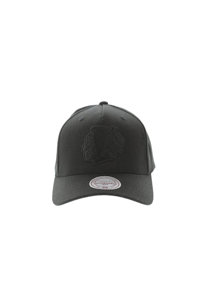 Mitchell & Ness Chicago Blackhawks 110 Pinch Snapback Black