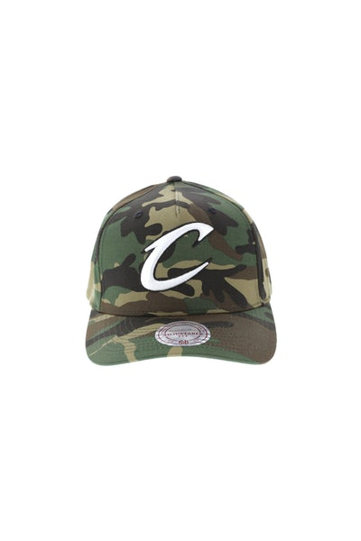 Mitchell & Ness Cleveland Cavaliers Pinch 110 Snapback Camo