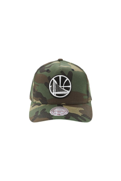 Mitchell & Ness Golden State Warriors Pinch 110 Snapback Camo