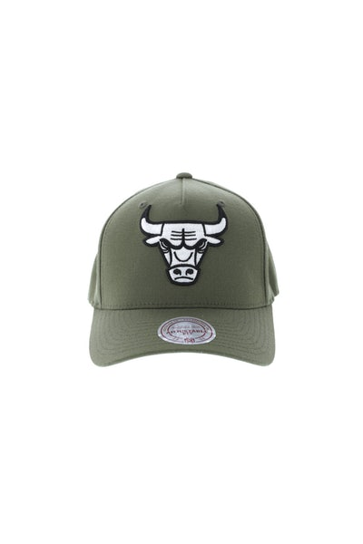 Mitchell & Ness Chicago Bulls 110 Pinch Snapback Olive