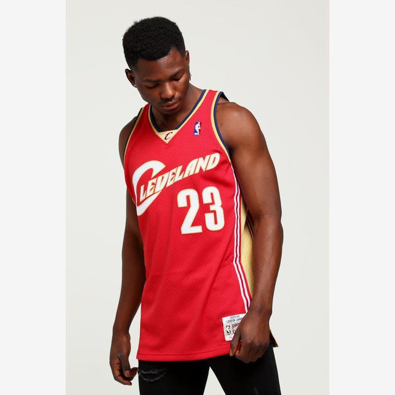 Mitchell   Ness Cleveland Cavaliers LeBron James  23 Swingman Jersey B –  Culture Kings 580fefab4