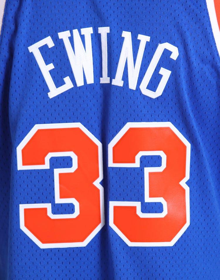 c3751bb43749 Mitchell   Ness New York Knicks Patrick Ewing  33 NBA Jersey Royal ...