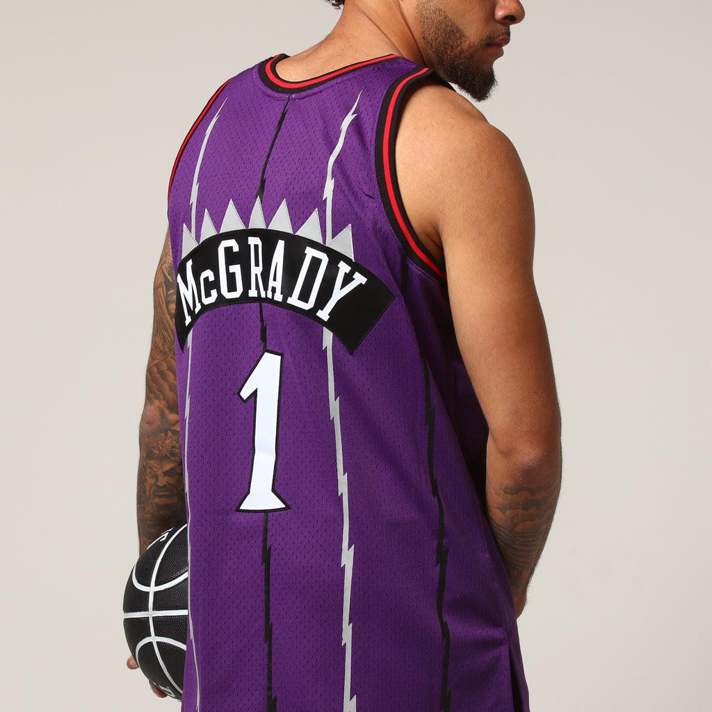 3f6aedd01 australia mitchell and ness raptors 1 tracy mcgrady purple throwback  stitched nba jersey a6ee4 00b32