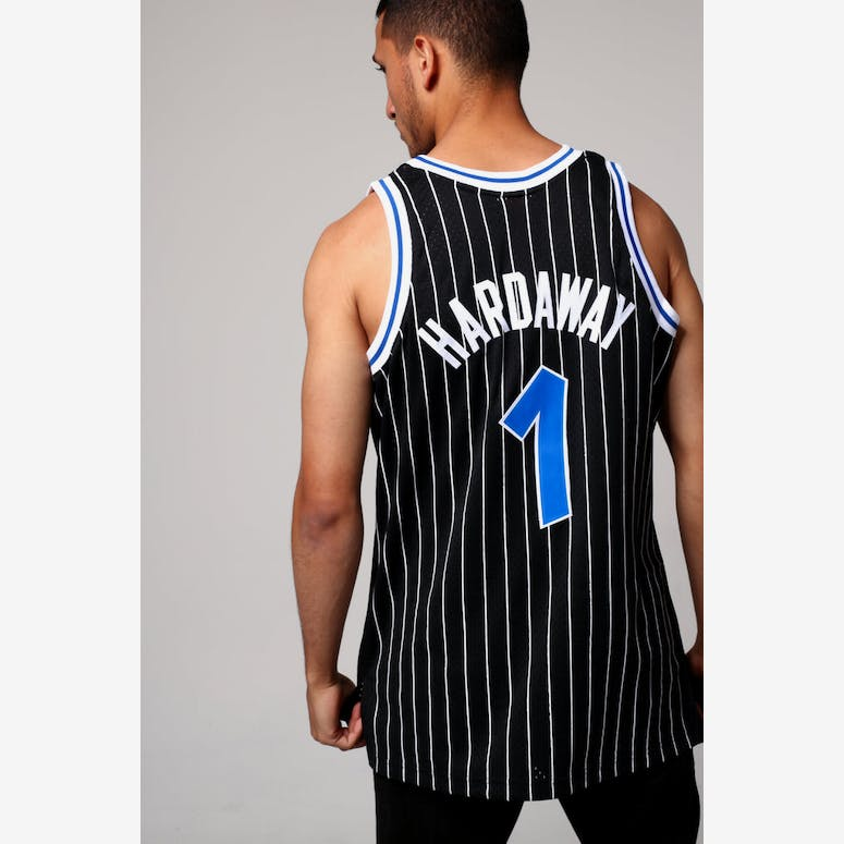 166eb1289 Mitchell   Ness Orlando Magic Anfernee Hardaway  1 NBA Jersey Black –  Culture Kings